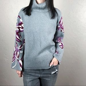 Cabi Eden Pullover Turtleneck Sweater